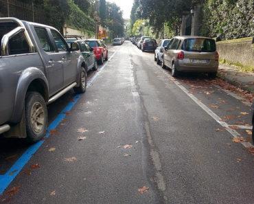 ricorso multa parcheggio strisce blu